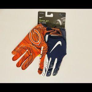 Nike Vapor Jet Football Receiver Gloves Chi Bears